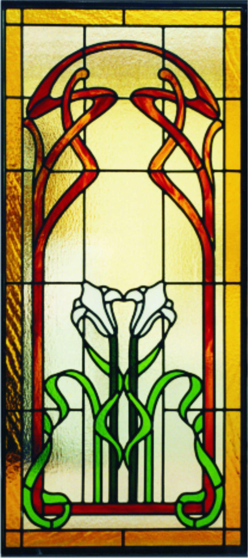 Vetrata artistica rilegata a piombo vetrate artistiche for Disegni vetrate